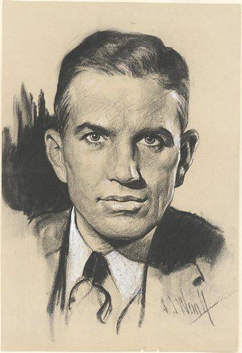 Rex Tugwell. Sitter: Rexford Guy Tugwell, 10 Jul 1891 – 21 Jul 1979. Date: 1930s. Record ID: npg_NPG.78.TC795.