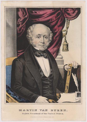 Martin Van Buren. Sitter: Martin Van Buren, 5 Dec 1782 – 24 Jul 1862. Date: 1830s. Record ID: npg_NPG.86.147.