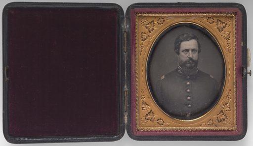 Orlando Bolivar Willcox. Sitter: Orlando Bolivar Willcox, 1823 – 1907. Date: 1880s. Record ID: npg_NPG.2016.54.