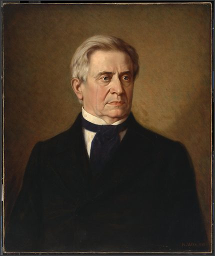 Joseph Henry. Sitter: Joseph Henry, 17 Dec 1797 – 13 May 1878. Date: 1880s. Record ID: npg_NPG.85.49.