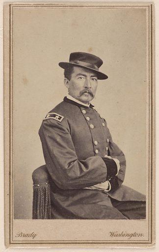 Philip Henry Sheridan. Sitter: Philip Henry Sheridan, 6 Mar 1831 – 5 Aug 1888. Date: 1880s. Record ID: npg_S_NPG.78.106.
