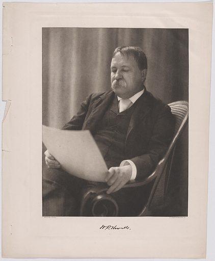 William Dean Howells. Sitter: William Dean Howells, 1 Mar 1837 – 11 May 1920. Record ID: npg_S_NPG.78.144.