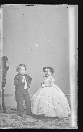 G.W.M. Nutt and Minnie Warren. Sitters: George Washington Morrison Nutt, 01 Apr 1848 – 25 May 1881; Minnie Warren, 1842 – 1878. Date: 1860s. Record ID: npg_NPG.81.M3675.3.