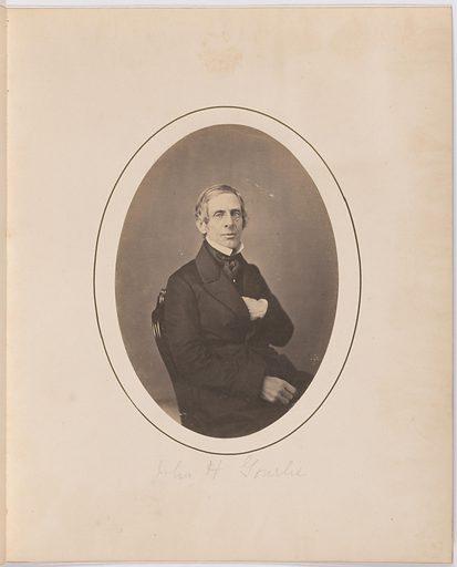 John H. Gourlie. Sitter: John H. Gourlie. Record ID: npg_S_NPG.77.26.