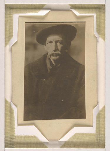 William Miner. Sitter: William Miner, 1847 – 1913. Date: 1910s. Record ID: npg_S_NPG.82.31.