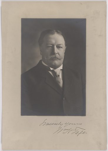 William Howard Taft. Sitter: William Howard Taft, 15 Sep 1857 – 8 Mar 1930. Date: 1900s. Record ID: npg_S_NPG.84.287.