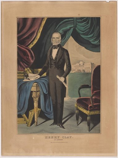 Henry Clay. Sitter: Henry Clay, 12 Apr 1777 – 29 Jun 1852. Date: 1840s. Record ID: npg_NPG.89.169.