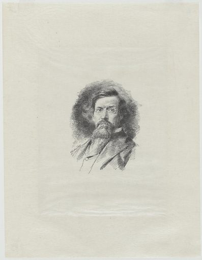 George Inness. Sitter: George Inness, 1 May 1825 – 3 Aug 1894. Date: 1880s. Record ID: npg_NPG.79.33.