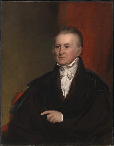 Harrison Gray Otis. Sitter: Harrison Gray Otis, 8 Oct 1765 – 28 Oct 1848. Date: 1830s. Record ID: npg_NPG.77.30.