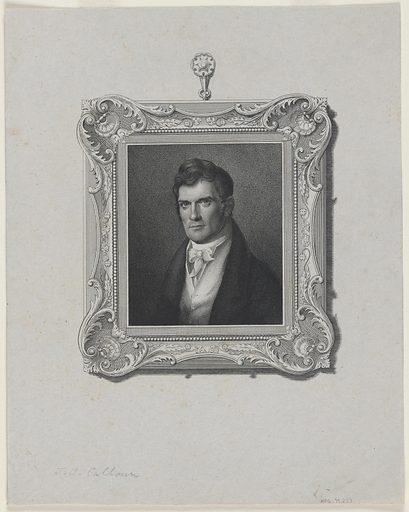 John C. Calhoun. Sitter: John Caldwell Calhoun, 18 Mar 1782 – 31 Mar 1850. Date: 1820s. Record ID: npg_NPG.79.237.
