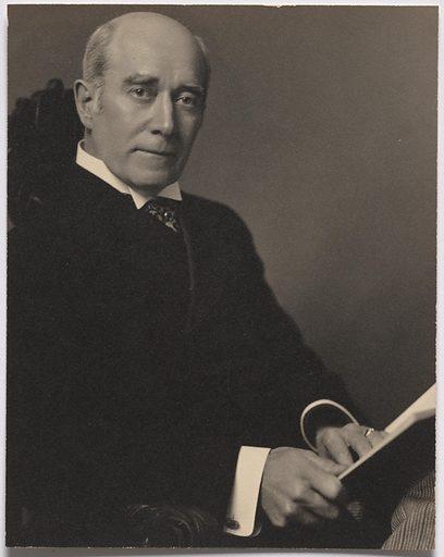 William Mills Ivins. Sitter: William Mills Ivins, 1851 – 1915. Date: 1910s. Record ID: npg_S_NPG.93.388.21.