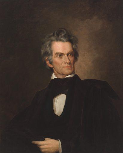 John C. Calhoun. Sitter: John Caldwell Calhoun, 18 Mar 1782 – 31 Mar 1850. Date: 1840s. Record ID: npg_NPG.90.52.