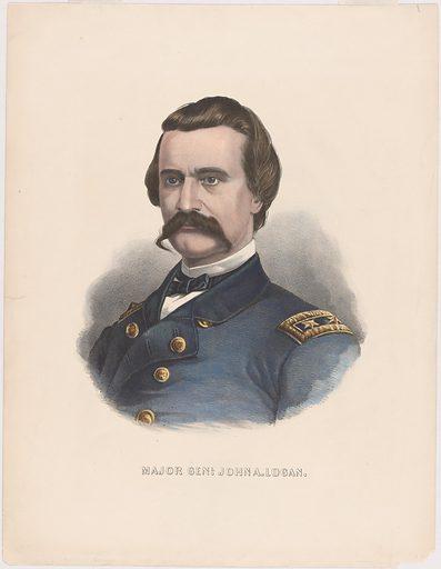 John Alexander Logan. Sitter: John Alexander Logan, 9 Feb 1826 – 26 Dec 1886. Date: 1880s. Record ID: npg_NPG.85.56.