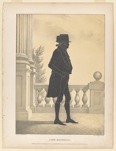 John Marshall. Sitter: John Marshall, 24 Sep 1755 – 6 Jul 1835. Date: 1840s. Record ID: npg_NPG.80.224.