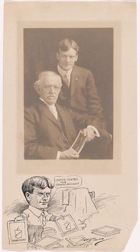 Gustav Cramer and George William Harris. Sitters: Gustav Cramer, 1838 – 1914; George William Harris, 1872 – 1964. Date: 1910s. Record ID: npg_NPG.84.312.