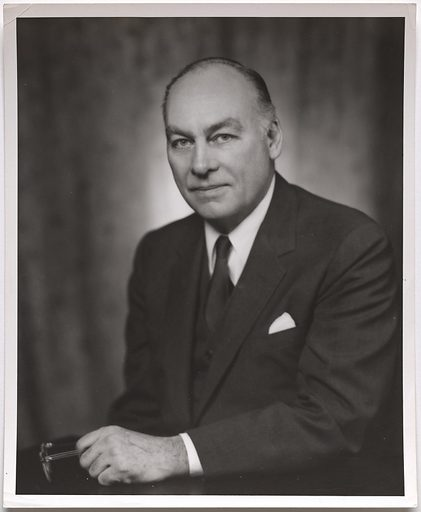 George Horace Gallup. Sitter: George Horace Gallup, 1901 – 1984. Date: 1960s. Record ID: npg_S_NPG.93.388.12.