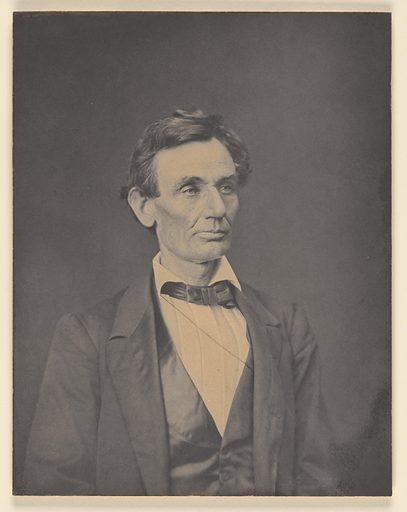 Abraham Lincoln. Sitter: Abraham Lincoln, 12 Feb 1809 – 15 Apr 1865. Date: 1860s. Record ID: npg_S_NPG.79.43.