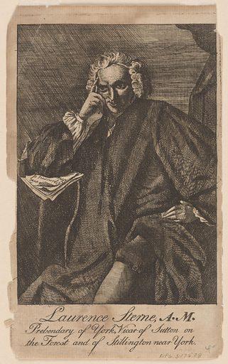 Lawrence Sterne. Sitter: Lawrence Sterne, 1713 – 1768. Date: 1770s. Record ID: npg_S_NPG.76.28.