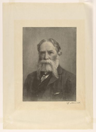 James Russell Lowell. Sitter: James Russell Lowell, 22 Feb 1819 – 12 Aug 1891. Date: 1890s. Record ID: npg_NPG.81.45.
