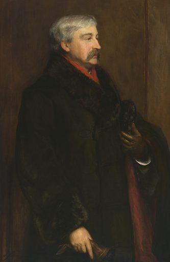 Bret Harte. Sitter: Bret Harte, 25 Aug 1836 – 5 May 1902. Date: 1880s. Record ID: npg_NPG.69.52.