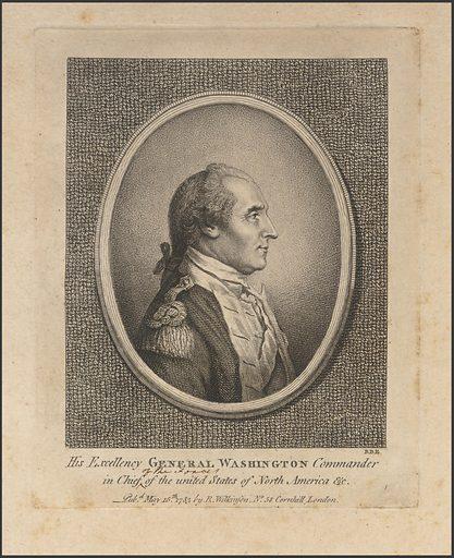 George Washington. Sitter: George Washington, 22 Feb 1732 – 14 Dec 1799. Date: 1780s. Record ID: npg_NPG.75.72.