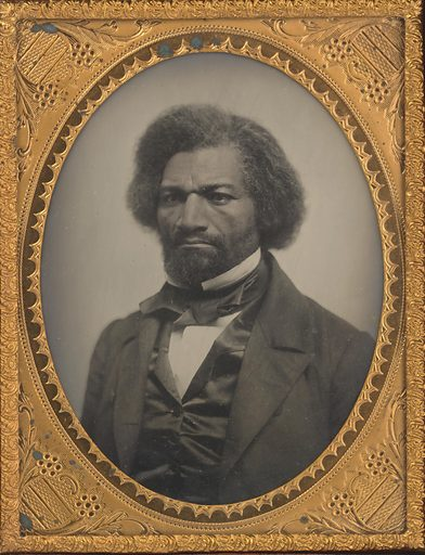 Frederick Douglass. Sitter: Frederick Douglass, Feb 1818 – 20 Feb 1895. Date: 1850s. Record ID: npg_NPG.74.75.