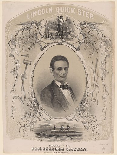 Abraham Lincoln. Sitter: Abraham Lincoln, 12 Feb 1809 – 15 Apr 1865. Date: 1850s. Record ID: npg_NPG.80.46.