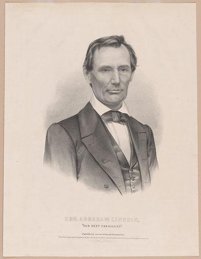Abraham Lincoln. Sitter: Abraham Lincoln, 12 Feb 1809 – 15 Apr 1865. Date: 1860s. Record ID: npg_NPG.80.51.
