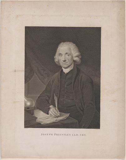 Joseph Priestley. Sitter: Joseph Priestley, 13 Mar 1733 – 6 Feb 1804. Date: 1780s. Record ID: npg_NPG.77.359.