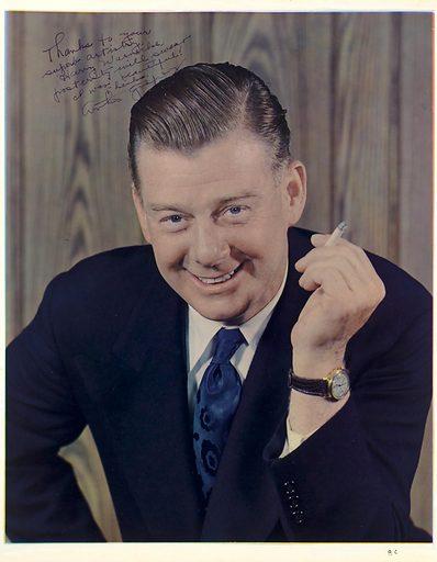 Arthur Michael Godfrey. Sitter: Arthur Michael Godfrey, 31 Aug 1903 – 16 Mar 1983. Date: 1940s. Record ID: npg_NPG.94.42.