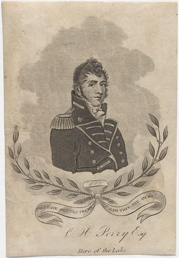 Oliver Hazard Perry. Sitter: Oliver Hazard Perry, 20 Apr 1785 – 23 Aug 1819. Date: 1800s. Record ID: npg_NPG.79.13.