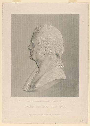 John Marshall. Sitter: John Marshall, 24 Sep 1755 – 6 Jul 1835. Date: 1830s. Record ID: npg_NPG.84.33.