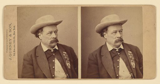 Edward Zane Carroll Judson. Sitter: Edward Zane Carroll Judson, 20 Mar 1823 – 16 Jul 1886. Date: 1860s. Record ID: npg_NPG.84.129.