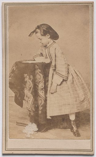 Sarah Meade. Sitter: Sarah Meade, 1855 – 1936. Date: 1860s. Record ID: npg_S_NPG.85.269.