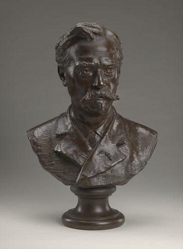 Richard Morris Hunt. Sitter: Richard Morris Hunt, 31 Oct 1827 – 31 Jul 1895. Date: 1880s. Record ID: npg_NPG.2014.8.