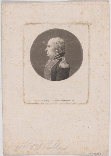 Edward Preble. Sitter: Edward Preble, 15 Aug 1761 – 25 Aug 1807. Date: 1810s. Record ID: npg_NPG.79.153.