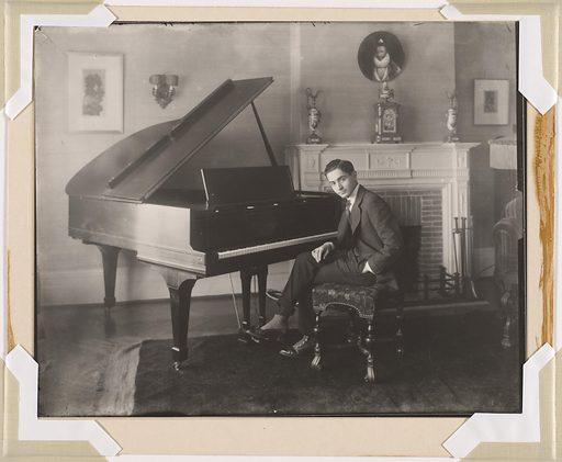 Irving Berlin. Sitter: Irving Berlin, 11 May 1888 – 22 Sep 1989. Date: 1910s. Record ID: npg_NPG.93.388.4.