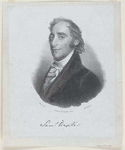 Samuel Dexter. Sitter: Samuel Dexter, 1761 – 1816. Date: 1820s. Record ID: npg_S_NPG.78.169.