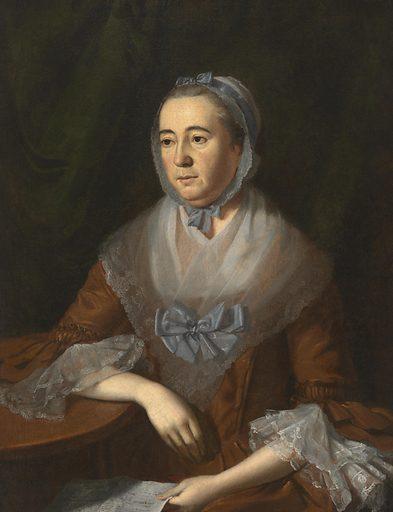 Anne Catharine Hoof Green. Sitter: Anne Catharine Hoof Green, c. 1720 – 23 Mar 1775. Date: 1760s. Record ID: npg_NPG.91.152.