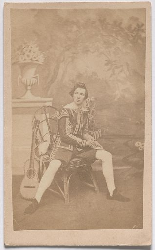 """The Lover from Shakespeare's """"Seven Ages"""" of Man. Date: 1850s. Record ID: npg_S_NPG.85.294.C."""