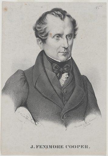 James Fenimore Cooper. Sitter: James Fenimore Cooper, 15 Sep 1789 – 14 Sep 1851. Date: 1820s. Record ID: npg_NPG.81.44.