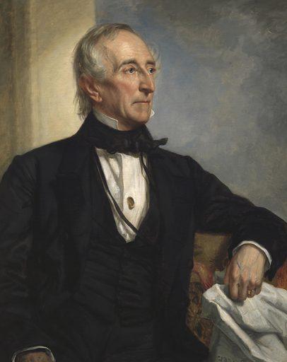 John Tyler. Sitter: John Tyler, 29 Mar 1790 – 18 Jan 1862. Date: 1850s. Record ID: npg_NPG.70.23.