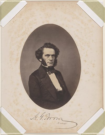 Albert Gallatin Brown. Sitter: Albert Gallatin Brown, 31 May 1813 – 12 Jun 1880. Date: 1850s. Record ID: npg_S_NPG.87.42.35.