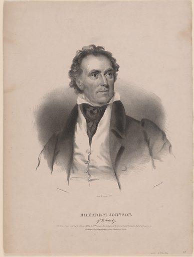 Richard Mentor Johnson. Sitter: Richard Mentor Johnson, 17 Oct 1781 – 18 Nov 1850. Date: 1830s. Record ID: npg_S_NPG.76.36.