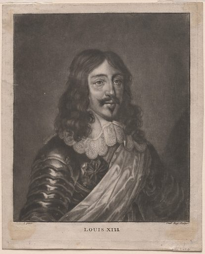 Louis XIII. Sitter: Louis XIII of France, 1601 – 1643. Record ID: npg_S_NPG.68.13.