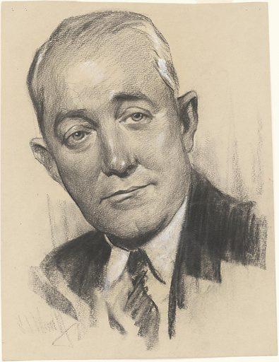 George M. Cohan. Sitter: George Michael Cohan, 3 Jul 1878 – 5 Nov 1942. Date: 1930s. Record ID: npg_NPG.78.TC309.