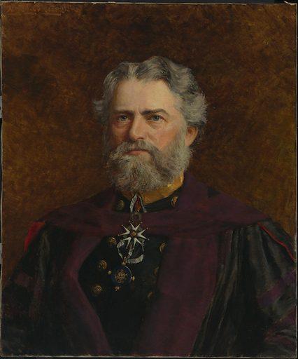 Simon Newcomb. Sitter: Simon Newcomb, 12 Mar 1835 – 11 Jul 1909. Date: 1900s. Record ID: npg_NPG.78.280.