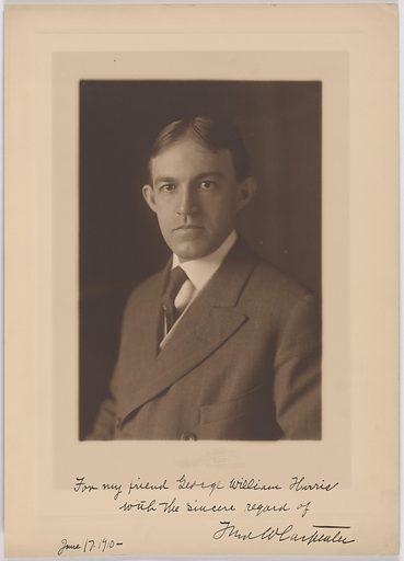 Fred Warner Carpenter. Sitter: Fred Warner Carpenter, 1873 – 1973? Date: 1910s. Record ID: npg_S_NPG.84.283.