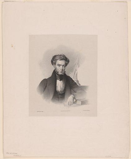 Thomas Ustick Walter. Sitter: Thomas Ustick Walter, 4 Sep 1804 – 3 Oct 1887. Date: 1830s. Record ID: npg_NPG.77.109.