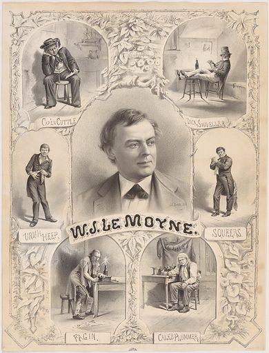 William J. Le Moyne. Sitter: William J. Le Moyne, 1831 – 1905. Date: 1880s. Record ID: npg_S_NPG.95.41.